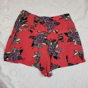 MINKPINK Urban  Outfitters Floral Shorts xs